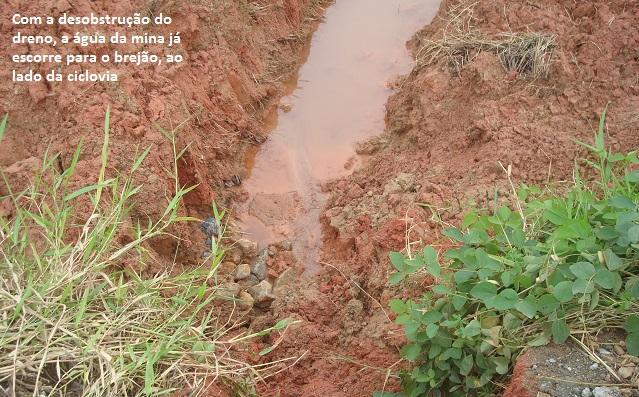 água da mina