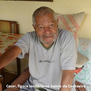 IBIÚNA – CESAR, FIGURA LENDÁRIA NO BAIRRO DA CACHOEIRA, MORRE AOS 75 ANOS