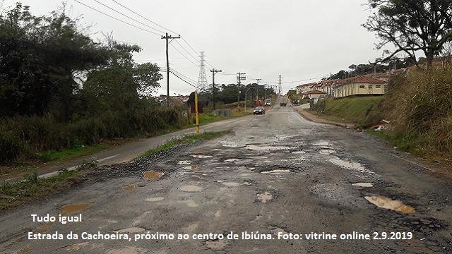 IBIÚNA – COM AS CHUVAS, AS ESTRADAS MUNICIPAIS GANHARAM MUITOS NOVOS BURACOS